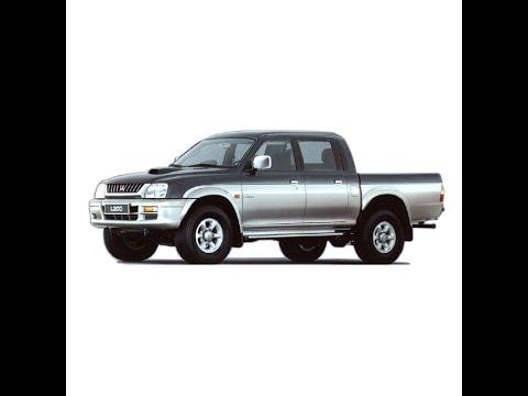 1991 mitsubishi l200 workshop manual