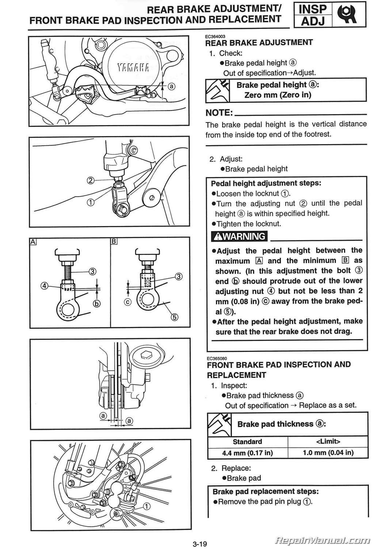 2002 yz125 service manual pdf