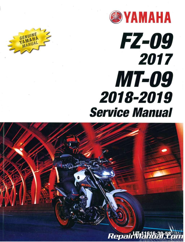 2017 fz 09 service manual pdf