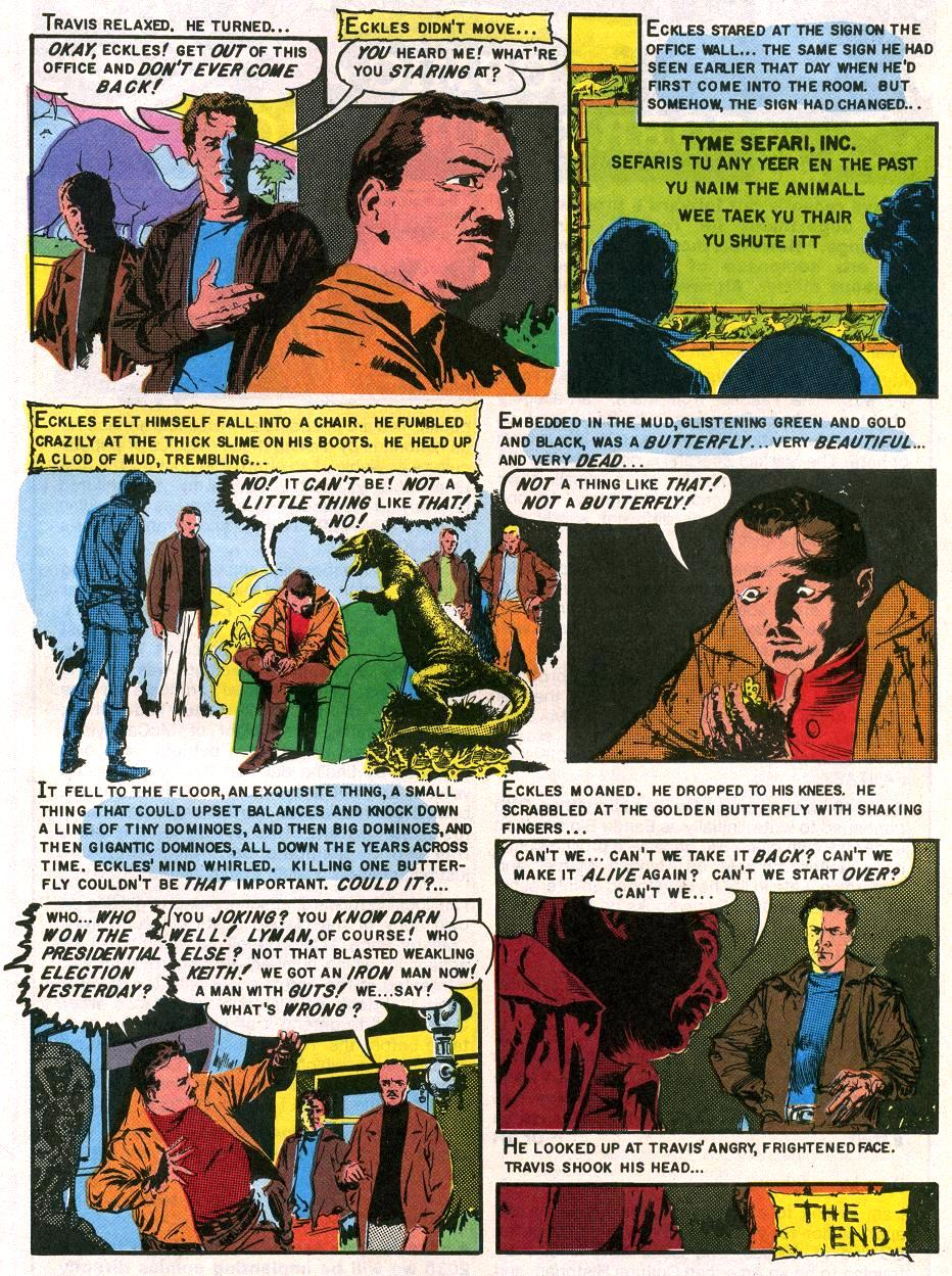 a sound of thunder comic pdf