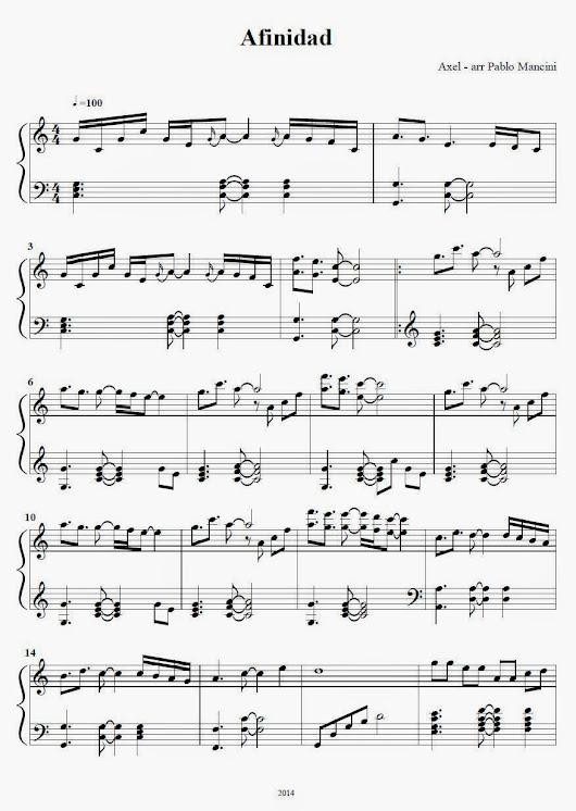 axel f sheet music easy pdf