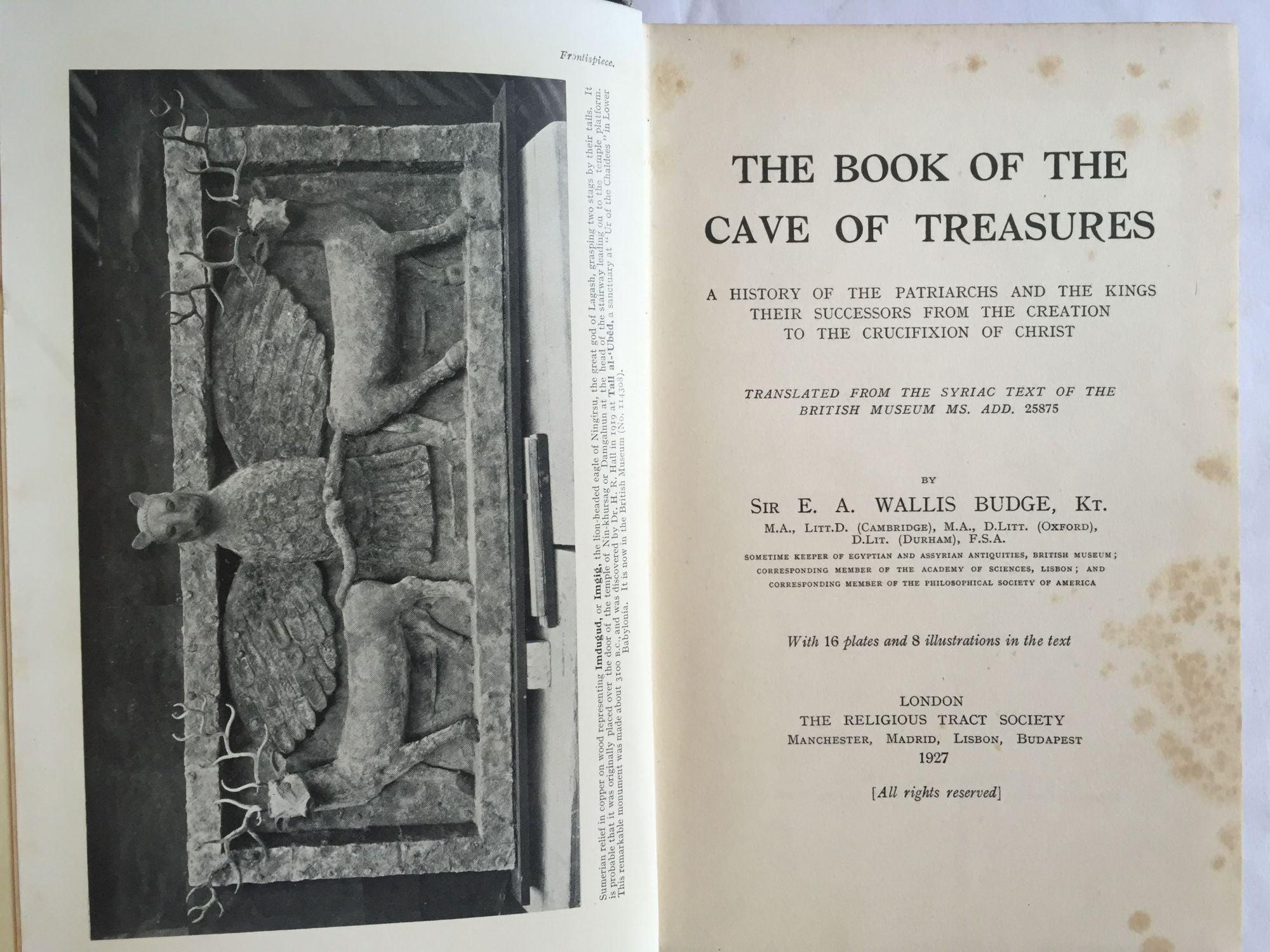 cave of treasures pdf