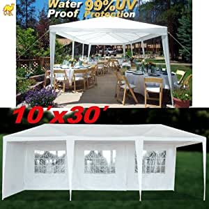 10x30 white party tent instructions