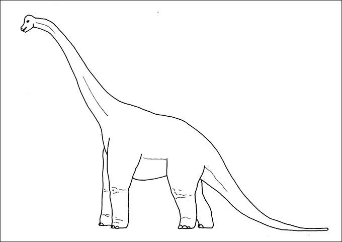 dinosaur colouring pages pdf