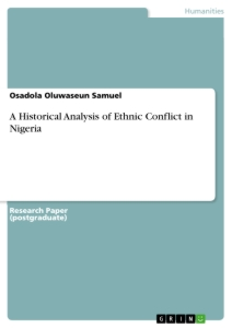 causes of ethnic conflict in africa pdf