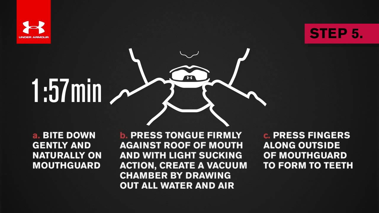 boiling mouthguard instructions