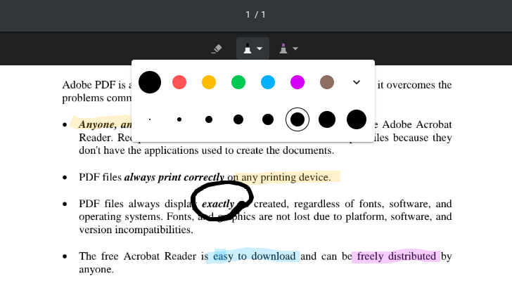 chrome pdf annotation