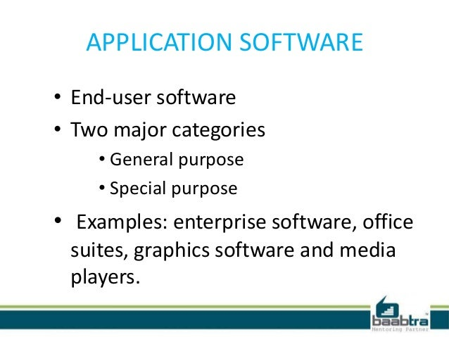 application software examples