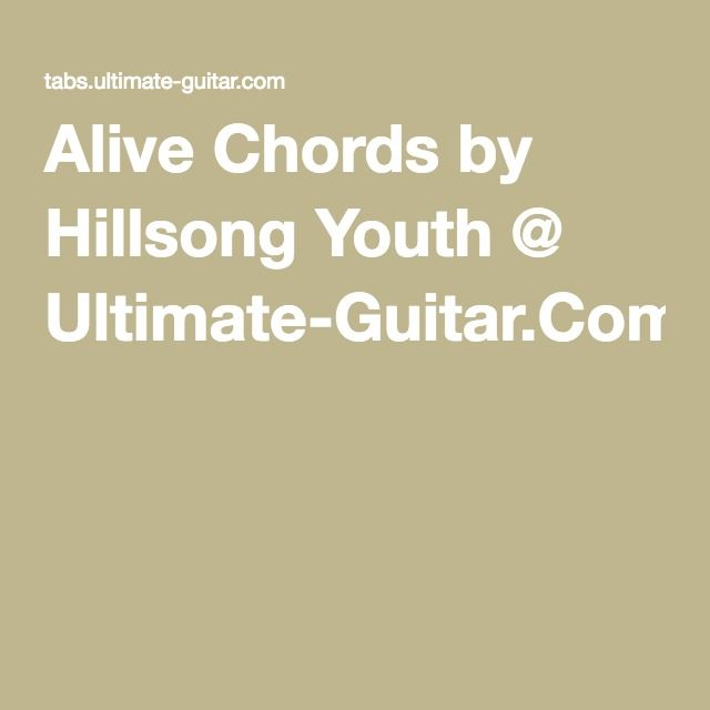 alive hillsong chords pdf