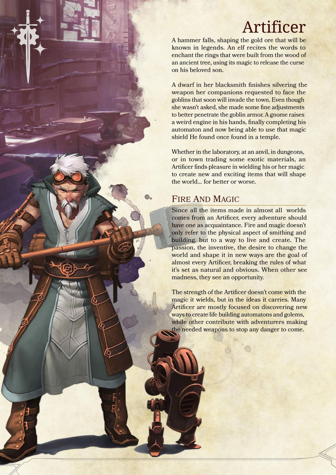 5e artificer guide
