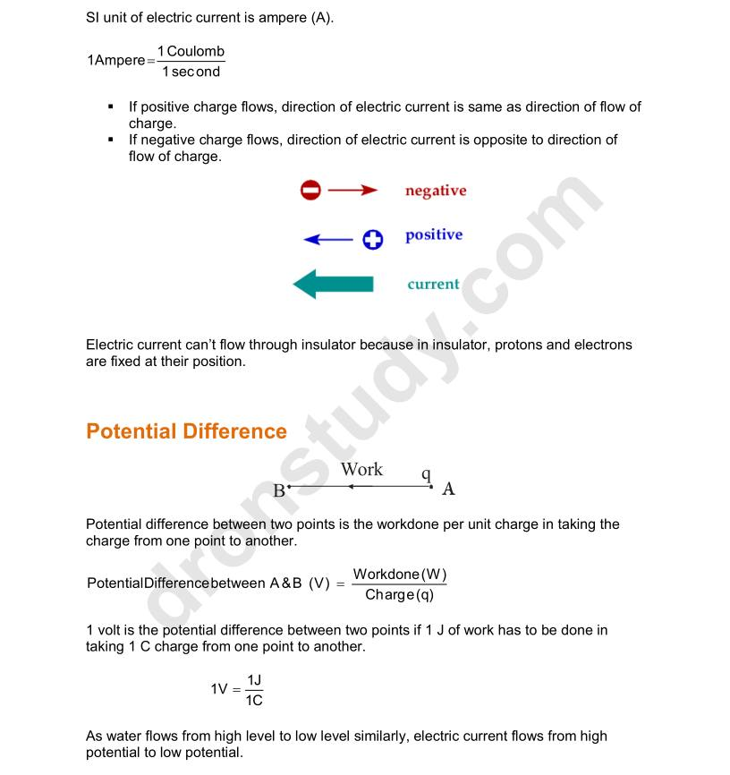 class 10 science notes pdf