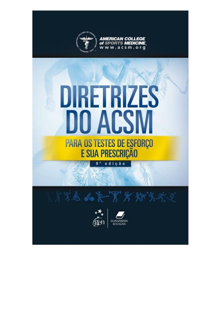 acsm guidelines pdf