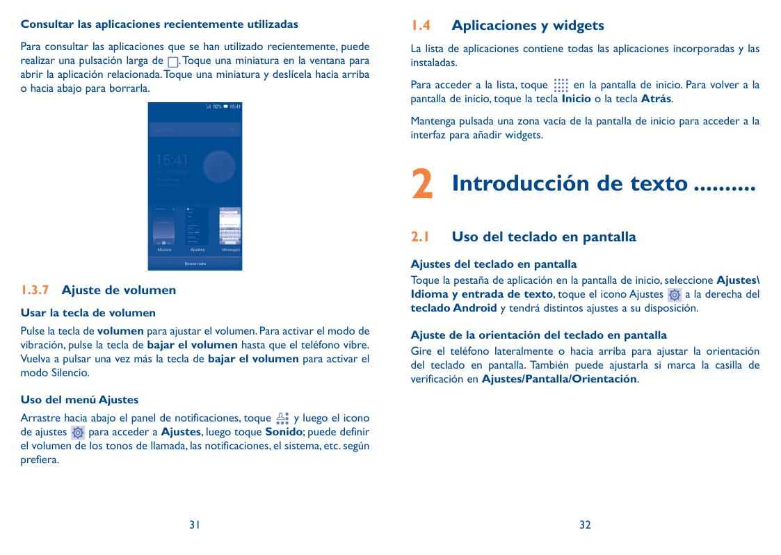 alcatel one touch pixi 3 manual de usuario