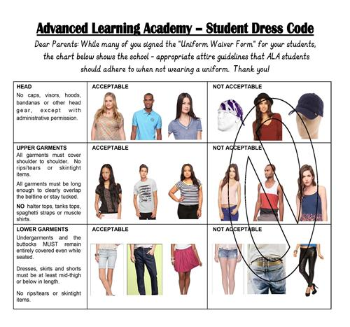 dress code policy pdf