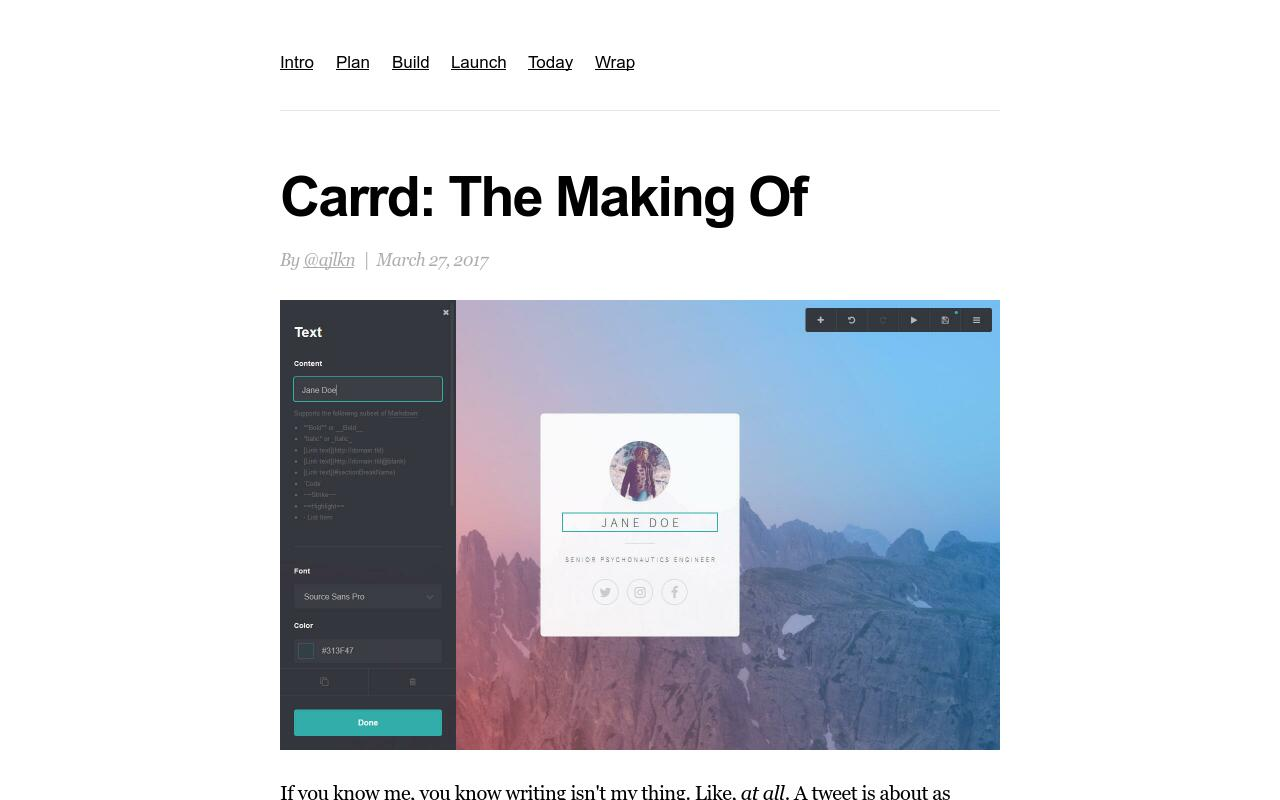 carrd.co documentation