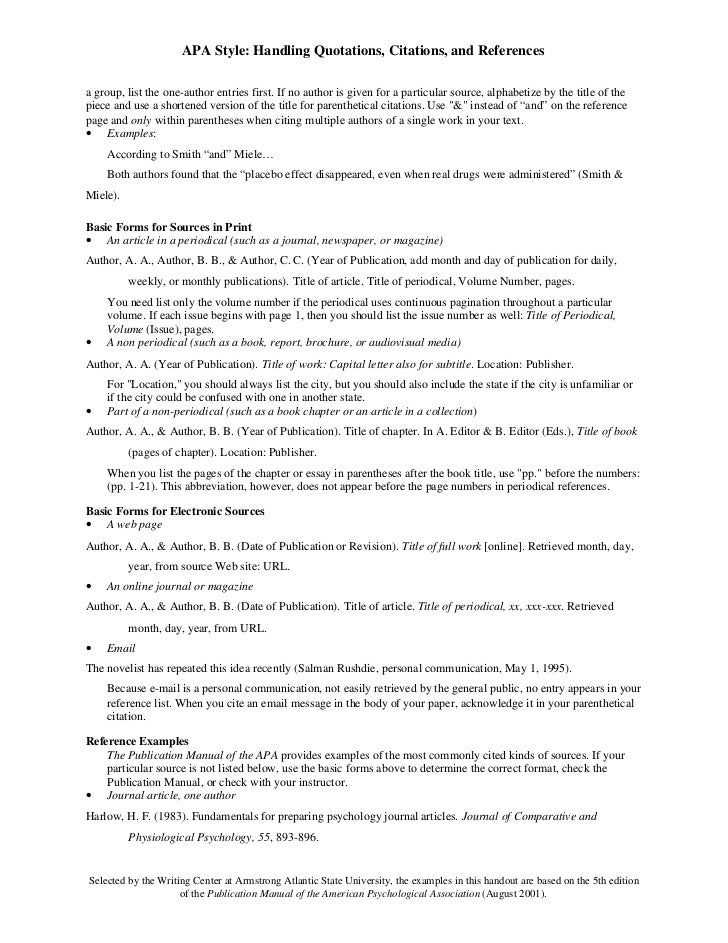 apa referencing guide otago
