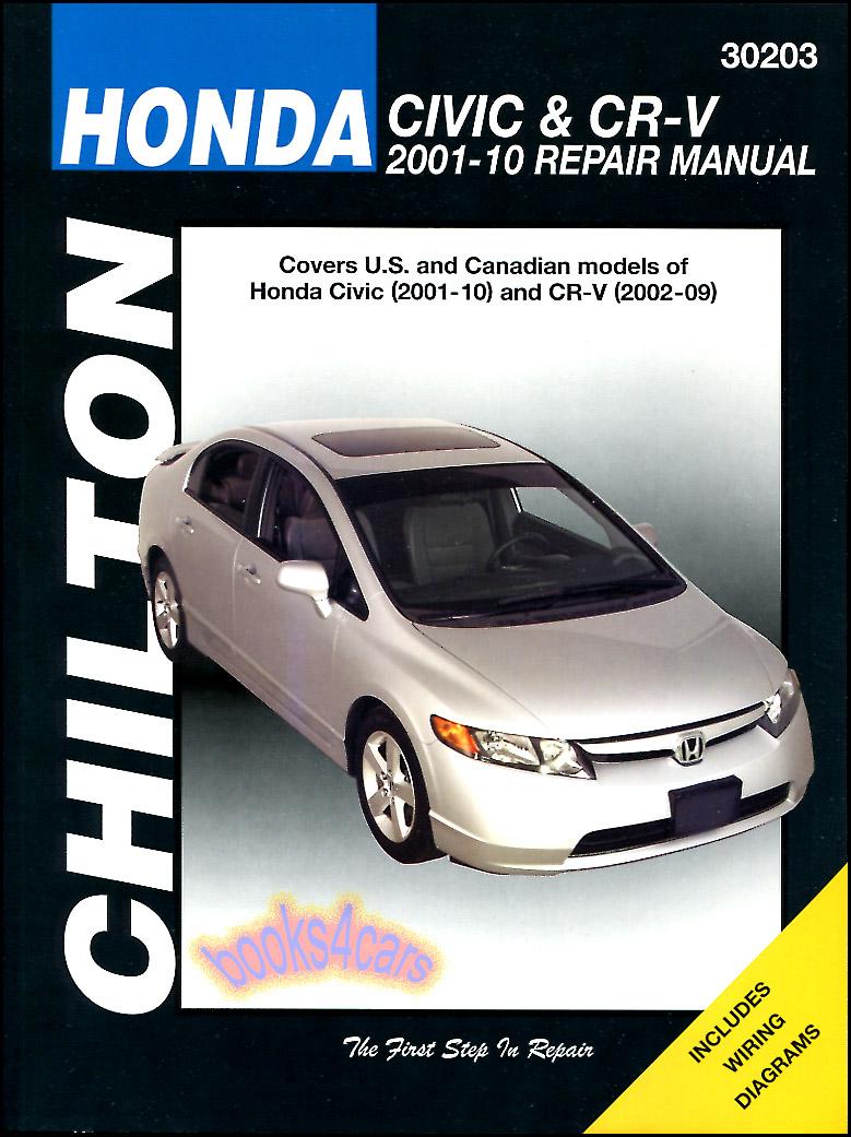 2012 honda crv service repair manual