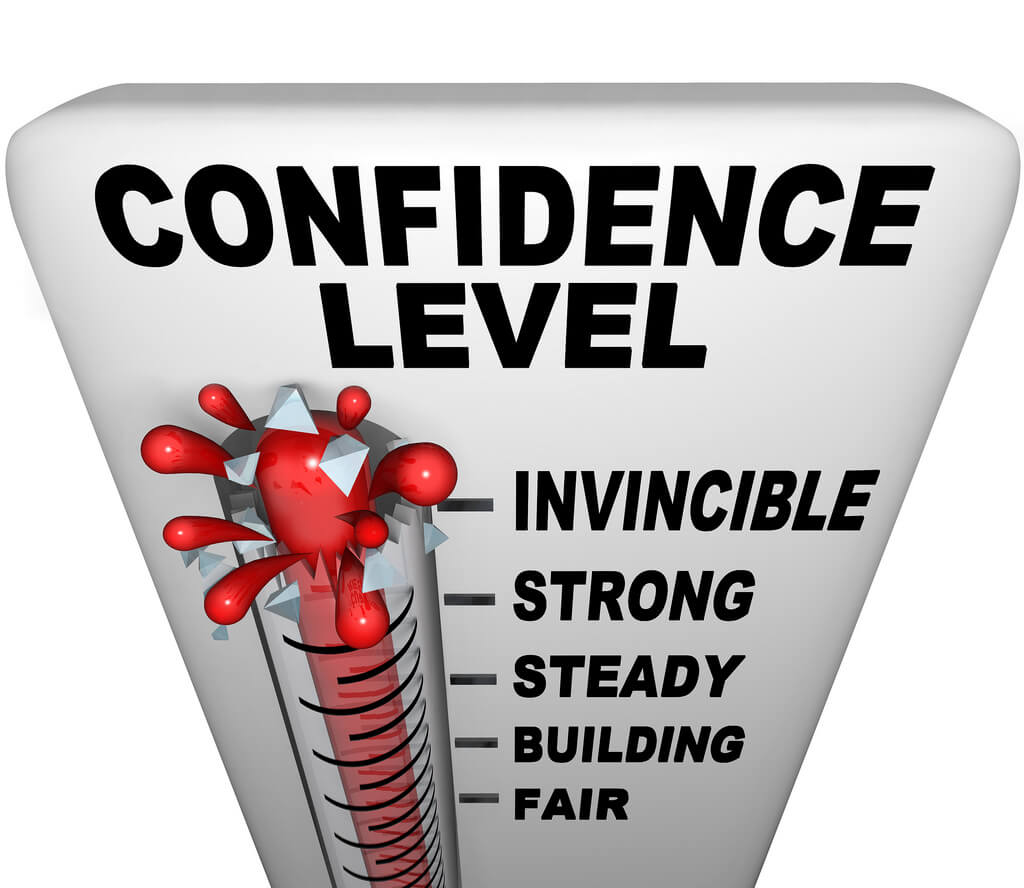 a guide to building confidence for the hopelessly mediocre