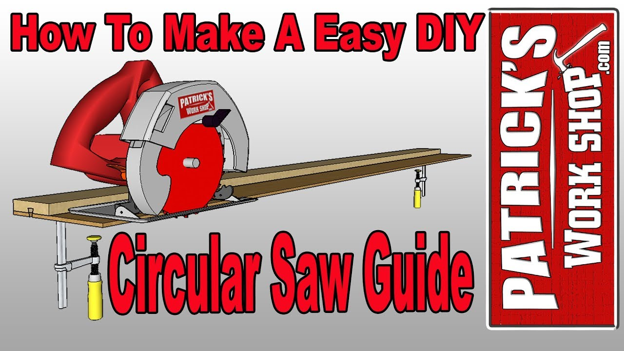 diy circular saw guide