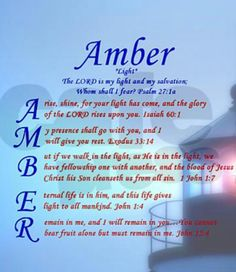 amber name meaning urban dictionary