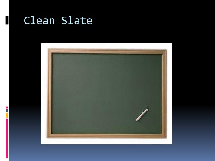 application for clean slate act