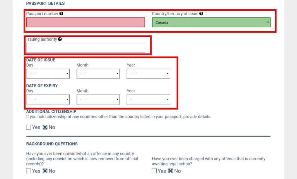 application visa australia online fee