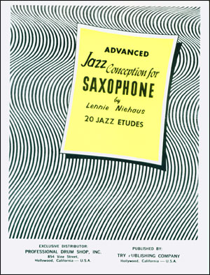basic jazz conception for saxophone volume 2 pdf