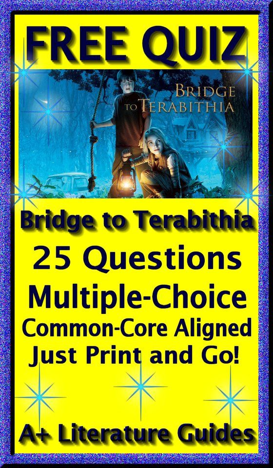 bridge to terabithia quiz pdf