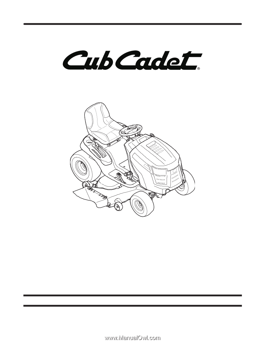 Cub Cadet 50 In Deck Belt For 1000 Ltx Series Lawn Manual Guide