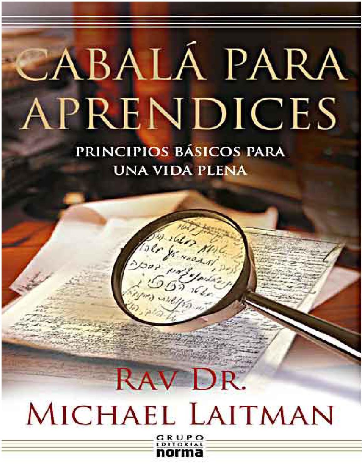 cabala para principiantes michael laitman pdf