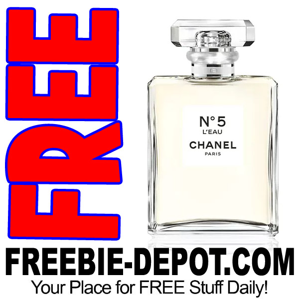 chanel no 5 l eau sample