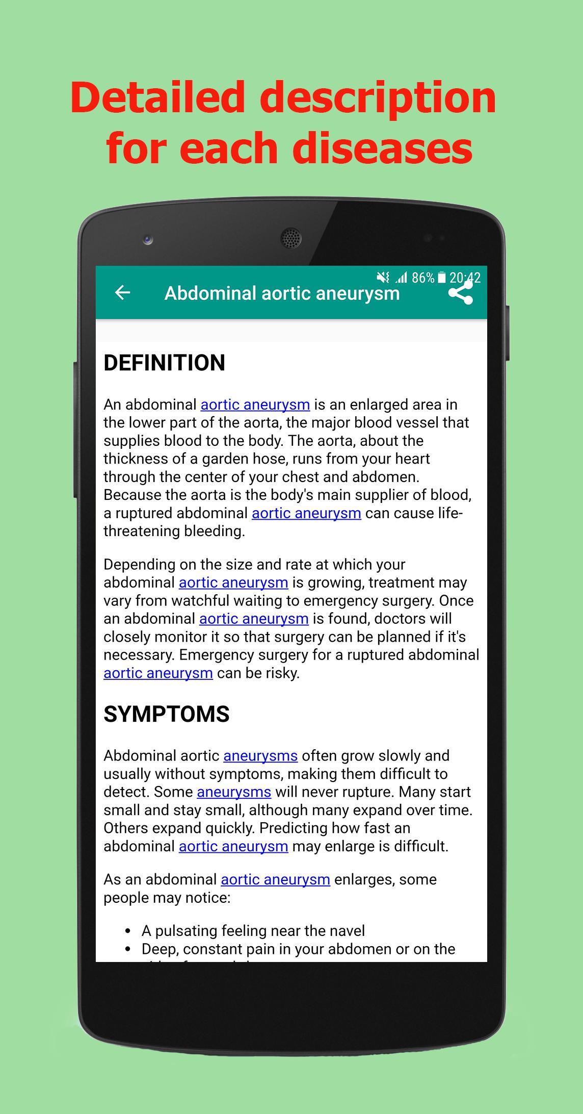 disease dictionary