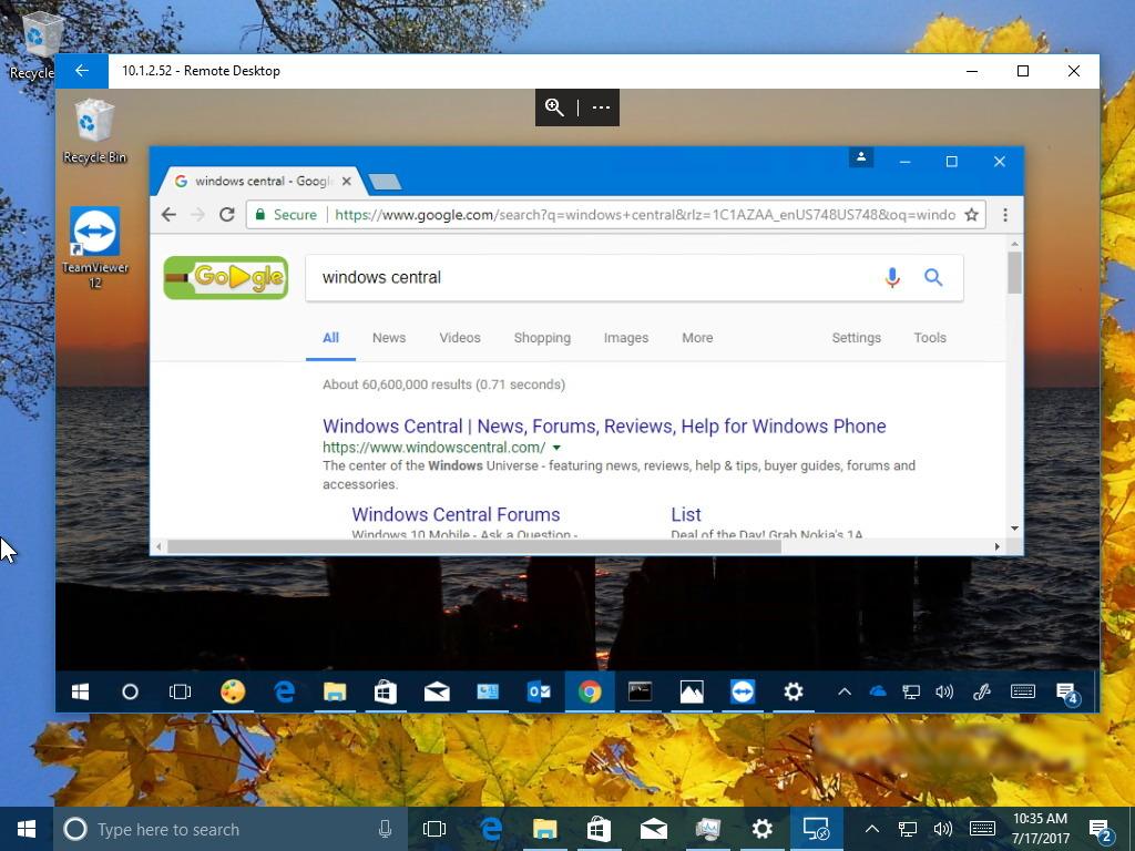 desktop run application