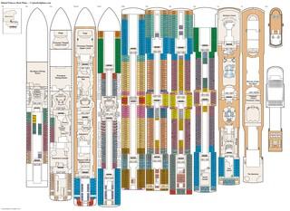 diamond princess deck plan pdf