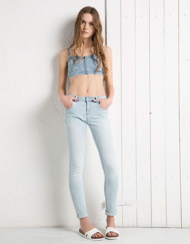 bershka size guide trousers